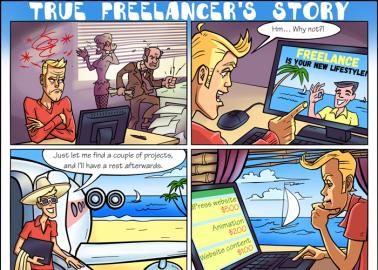 True Freelancer's story