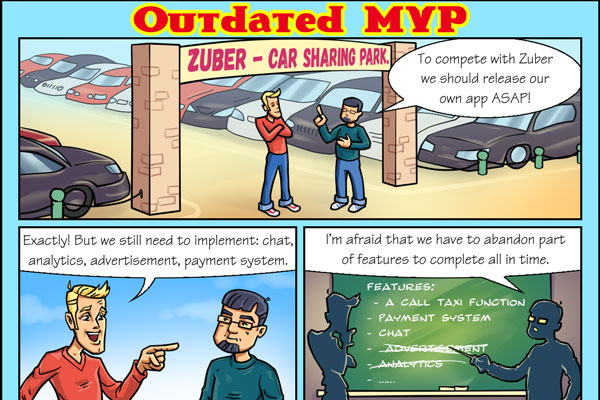Outdated MVP. Comics.