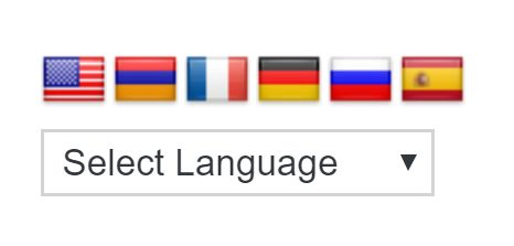 Select Language Image source: WordPress