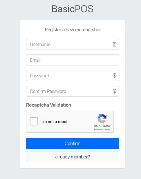 add ReCaptcha to register page