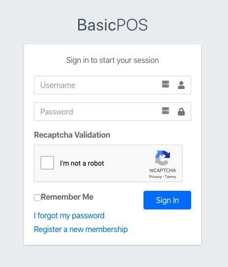add ReCaptcha to login page