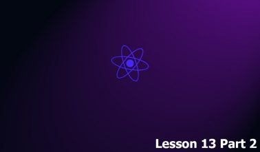 Уроки React. Урок 13. Часть 2.